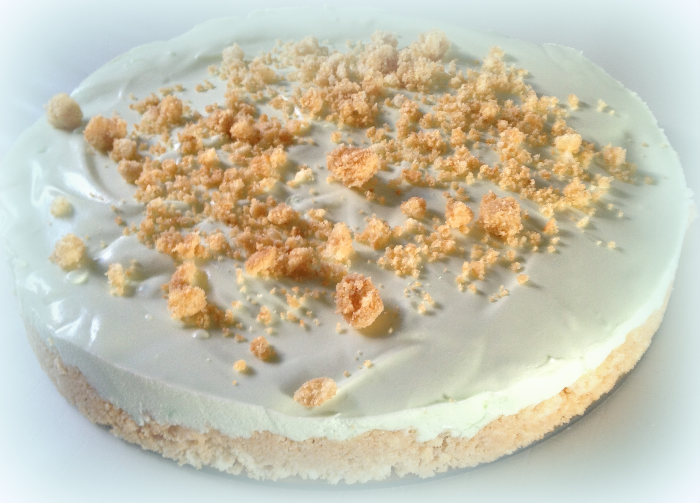 Waldmeister Frischkäse Kuchen Sweet Woodruff Cheesecake