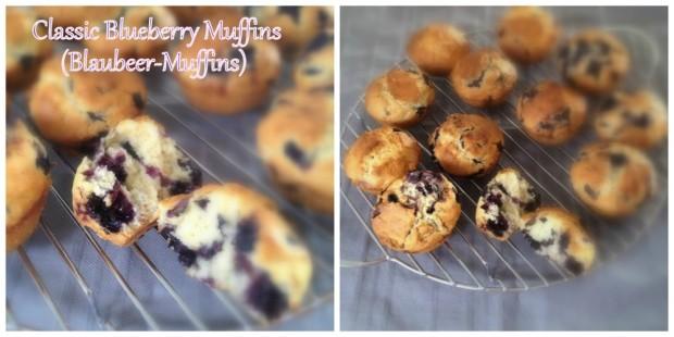 Blaubeer Muffin