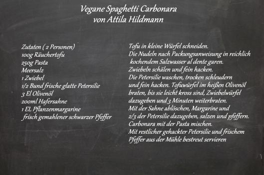 vegane spaghetti carbonara aus attila hildmann vegan for fun leeinthekitchen. Black Bedroom Furniture Sets. Home Design Ideas